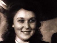 Вера Васильева на вручении Сталинской премии первой степени, 1948 г.