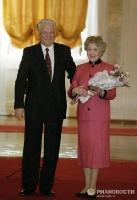 Церемония вручения государственных наград РФ деятелям культуры и искусства, 1996 г.