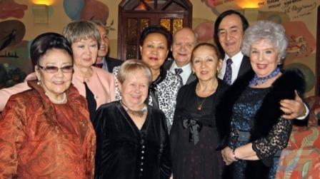 На благотворительной акции в Доме Пашкова, 10 декабря 2011 г.